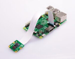 Raspberry Pi with camera attached